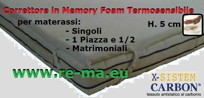 Correttore in WaterLily Viscoelastico Memory Foam